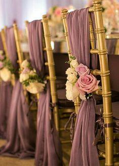 Свадебный декор стульев часть 1 / Свадебные платья и идеи для свадьбы / ВТОРАЯ УЛИЦА