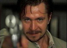 Leon the Professional ~ Gary Oldman at his bad guy best.