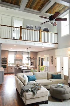 Love the ceiling and how open it is
