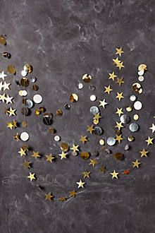 star/dot garlands for ALL YEAR ROUND.