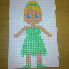 Tinker Bell hama beads by sophie11996