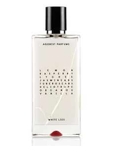 White Lies via AGONIST Parfums. Click on the image to see more!