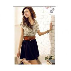 Pretty polka dress! - cooliyo.com