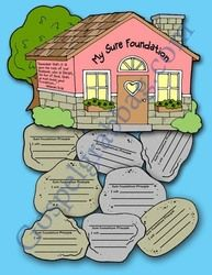 """Wise Man """"Built His House Upon a Rock"""" testimony building project"""