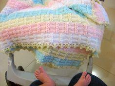 Diário de algodão: A manta da Nicole ~ free pattern  beautiful pattern http://falandodecrochet.blogspot.com.br/2013/02/manta-de-croche-nicole.html