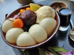 鎌倉/茶房 雲母 Deserts, Sweets, Breakfast, Japanese, Food, Morning Coffee, Gummi Candy, Japanese Language, Candy