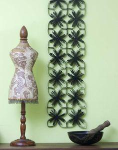 Cómo hacer una filigrana decorativa con tubos de cartón: ¡Recicla y crea!
