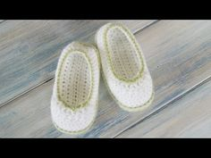 ▶ How To - Crochet Pretty Picot Baby Newborn Booties - YouTube