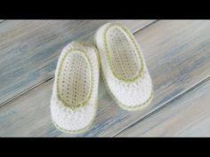 (Crochet) How To - Crochet Pretty Picot Baby Newborn Booties - YouTube