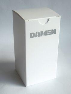 doos bedrukt met zilverinkt Damen