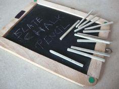 Natural Chalk Pencils - Pale Brown