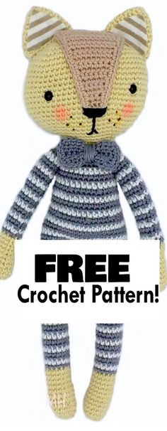 This is a good pattern to have for an Amigurumi base body (you can make any animal or human figure with it).