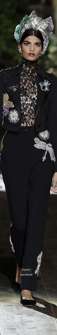 ♧Dolce & Gabbana Alta Moda Fall 2015