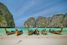 Maya Bay - Koh Phi Phi - Thailand Phuket > By Alika