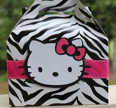 zebra print hello kitty I Heart Girly Shit Pinterest Zebra