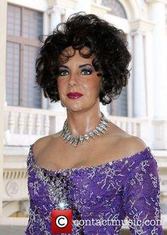 Elizabeth Taylor Wax Figure. Elizabeth Taylor Tribute at Madame Tussauds at The Venetian Resort and Casino in Las Vegas. Las Vegas, USA - 24.03.11. (Looks like its melting)