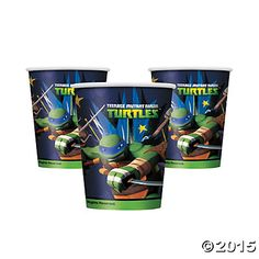 Teenage Mutant Ninja Turtles Party Cups
