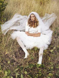 Vogue Paris Apr 2006 'Spring In Bloom' - Daria Werbowy by Inez & Vinoodh