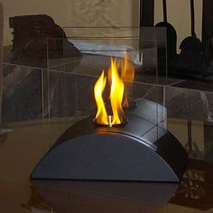 Touch of Modern portable fireplace. Love.