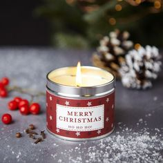 Duftkerze Frohe Weihnachten The Country Candle Company