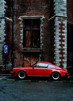 Red Porsche...
