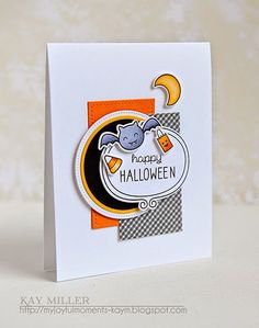 My Joyful Moments—Stamps: Spooktacular- Lawn Fawn, Sweater Weather- Lawn Fawn     Dies: Stitched Rectangles Lawn Fawn