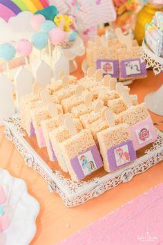 Crispy treats from a My Little Pony Birthday Party on Kara's Party Ideas   KarasPartyIdeas.com (28)