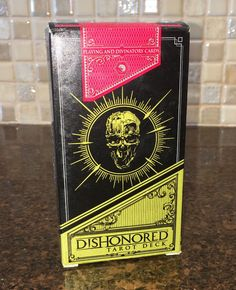 DISHONORED Tarot Cards Deck Rare Unused Playing Tarot Cards FANTASTIC ART!