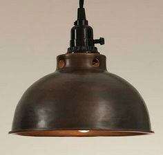 c31210bc73b llp good price but on wide is plug in and has a switch llp Aged Copper Dome  Pendant Lamp High quality Aged Copper Deposit finish insures a long lasting  ...