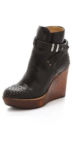 Rag & Bone wedge boots