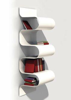 modern bookshelf Julien Vidame