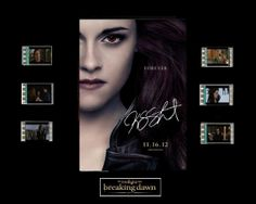 Twilight Breaking Dawn Part 2 Film Cell by Everythingbutthatcom, £9.99