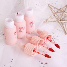 Kawaii Makeup, Cute Makeup, Makeup Kit, Beauty Makeup, Peach Makeup, Beauty Care Routine, Cute Beauty, Lip Tint, Aesthetic Makeup