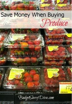 Shopping Tip: Save Money on Pre-packaged Produce