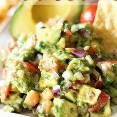 Avocado Salsa yes I mixed store bought salsa with 4 avocados, pepper, granulated garlic, red onion. Wow nice flavors