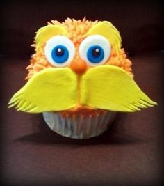The Lorax cupcake :)  soooo cute. I'm obsessed with Dr. S, want to try this!