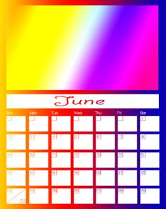 june 2013 calendar father's day