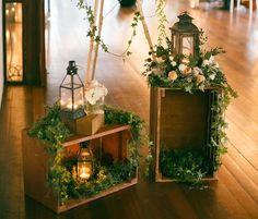 Decorative lantern ideas for backyard