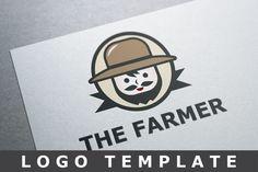 The Farmer Logo by Bevouliin Design on Creative Market