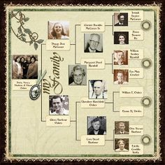Diane's Digital Scrapbook Pages: My Family