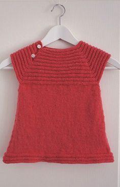 Robe bébé  Little sister's dress. Patron gratuit ravelry