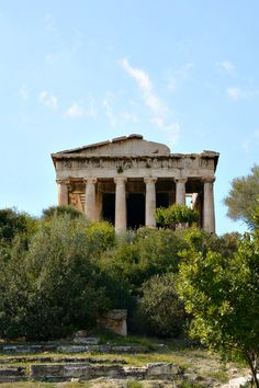 Temple of Hephaestus in Athens, Greece. Visit the . for more information about what you can see and do. Crete Greece, Santorini Greece, Athens Greece, Places To Travel, Places To Go, Travel Destinations, Greece Photography, Time Photography, Greece Travel