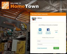 ATTENTION VETERANS & MILITARY FAMILIES: We've just launched a new community for you! Join today to connect with Home Depot recruiters, network with other military members, attend free webinars, and read articles that will help you in your civilian career.