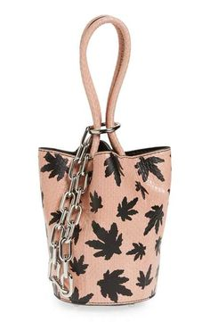 a25efeb79d7b Alexander Wang  Mini Palladium - Cameo Print  Genuine Snakeskin  amp   Leather Bucket Bag