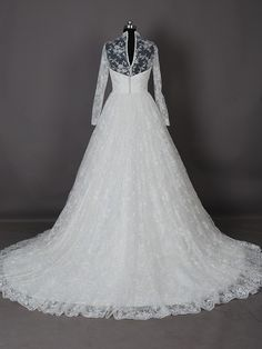 full lace wedding dress - Google Search