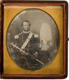 (c. 1843) American Militia Officer
