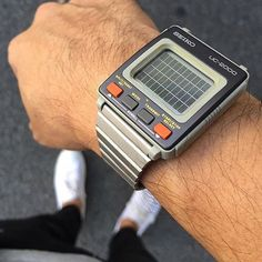 This Very COOL, vintage digital watch from Seiko.