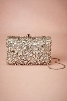 Crystallography Box Clutch from BHLDN
