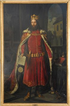 """Casimir III of Poland .jpg Casimir III of Poland April 1310 – 5 November reigned as the King of Poland from 1333 to He was the son of King Władysław I (""""the Elbow-high"""") and Duchess Hedwig of Kalisz, and the last Polish king from the Piast dynasty. European History, Art History, Ancient History, Poland History, Albrecht Durer, My Heritage, Krakow, Montenegro, Middle Ages"""