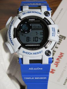 eeeba92dfd6 G-Shock Frogman Love The Sea And The Earth GWF-D1000K-7JR Whale and  Dolphin. G Shock WatchesCasio ...